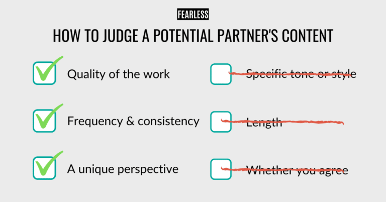 How to Judge a Potential Partner's Content - Choosing a Content Marketing Partner