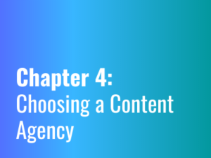 Chapter 4: Choosing a Content Agency