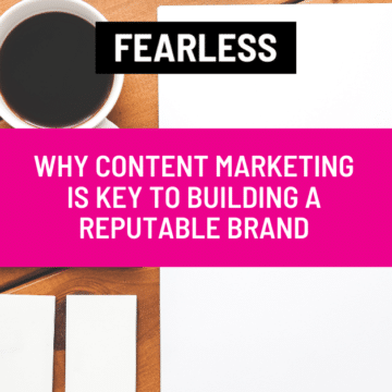 building a reputable brand