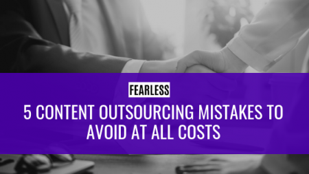 Content Outsourcing Mistakes