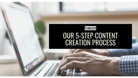 Our 5-Step Content Creation Process