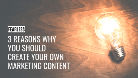 Create Your Own Marketing Content
